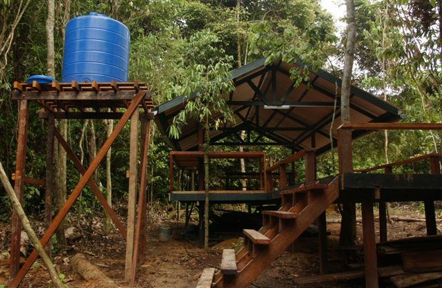 Camping Site at Danum Valley Field Centre