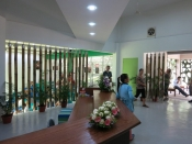 Sepilok Outdoor Nursery reception