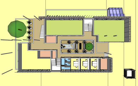 DVFC New Lab - Ground Floor Plan