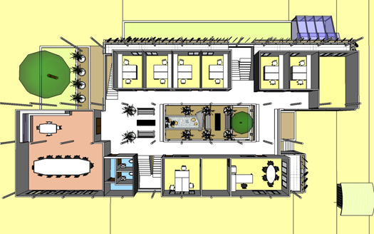 DVFC New Lab - First Floor Plan