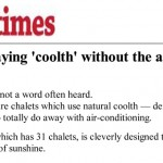 New Straits Times: Staying 'coolth' without the air-conditioner