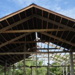 Mantanani Kindergarten Roof Goes Up