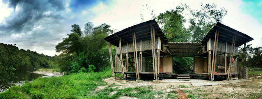 The Tagal Hut, Kg. Meligan, Sabah